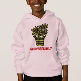 """Good Vibes Only"" Kids' Unisex Hoodie"