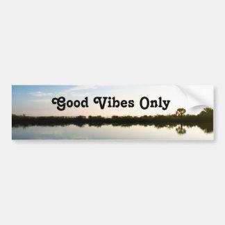Good Vibes Only Nature Custom Bumper Sticker