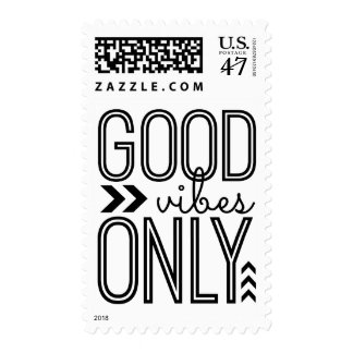 Good Vibes Only Postage