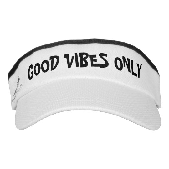 b7590e8153e GOOD VIBES ONLY sports sun visor cap