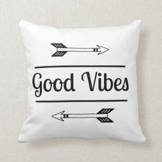 Good Vibes Pillow For Teens