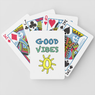 Good Vibes South West Sun Bicycle Playing Cards