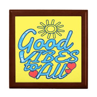 Good Vibes to All Keepsake Box