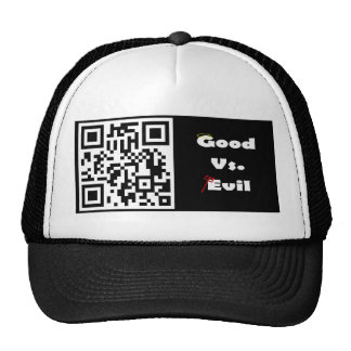 Good Vs Evil Cap Mesh Hat