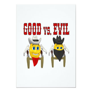 Good vs Evil Card