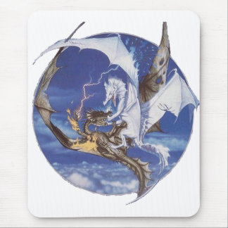 Good vs Evil Mouse Pad