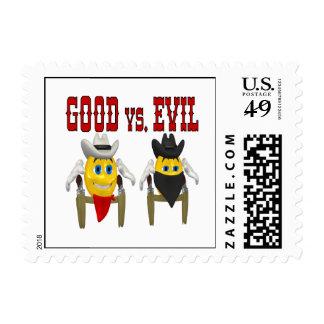 Good vs Evil Postage