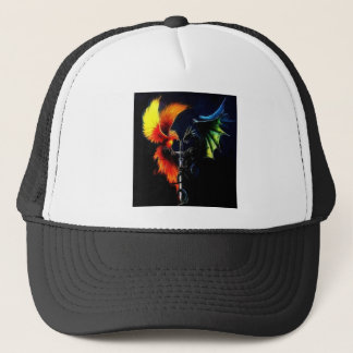Good Vs. Evil - Products designed by Mystic Moon D Trucker Hat