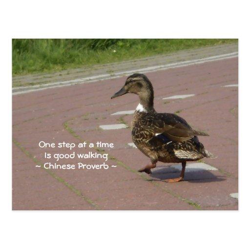 Good Walking Postcards