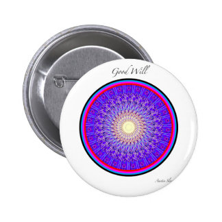 Good Will Mandala Pins