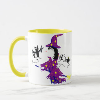 Good witch and her friends mug