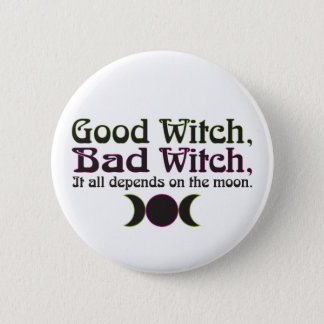 """""""Good Witch, Bad Witch..."""" Buttons"""