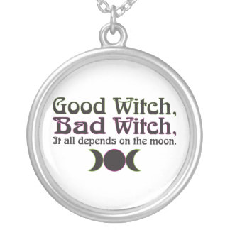 """""""Good Witch, Bad Witch..."""" Necklace"""