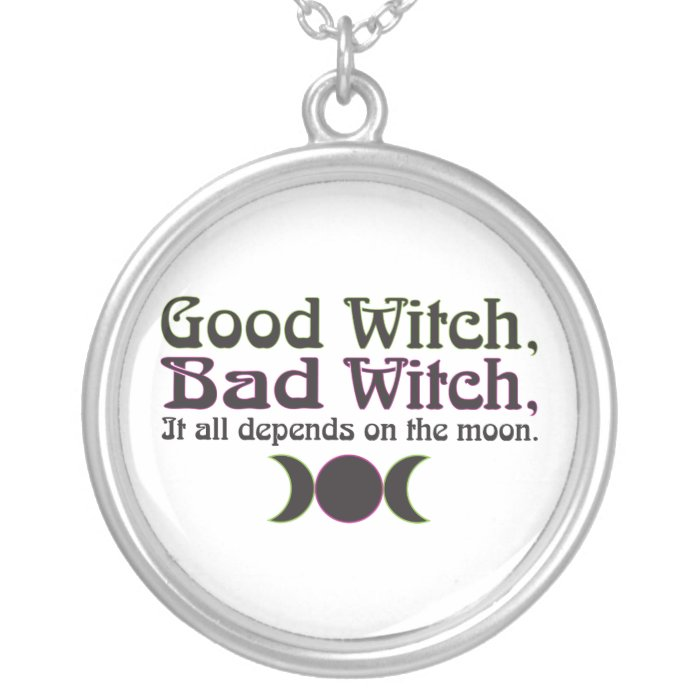 """Good Witch, Bad Witch..."" Necklace"