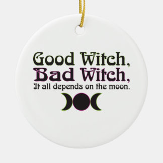 """""""Good Witch, Bad Witch..."""" Ornaments"""