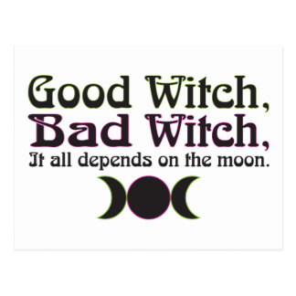 """Good Witch, Bad Witch..."" Postcards"