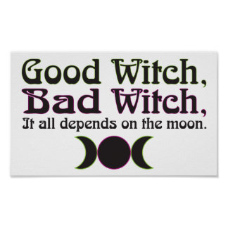 """Good Witch, Bad Witch..."" Print"