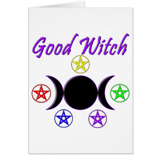 Good Witch Card