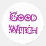 Good Witch Classic Round Sticker