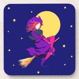 """Good Witch"" Coaster Set"