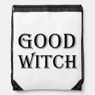 Good Witch Drawstring Backpack