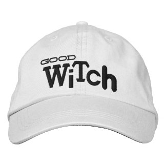 GOOD WITCH Eclectic Style Halloween Embroidery Hat