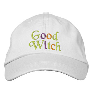 618a90eecb0 Good Witch Embroidered Baseball Cap