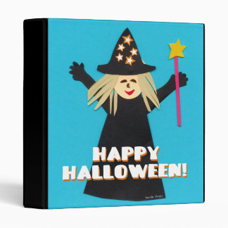 Good Witch Halloween Notebook 3 Ring Binder