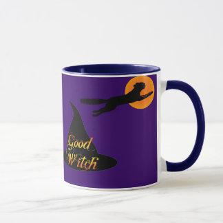 Good Witch Halloween Saying Coffee Mug