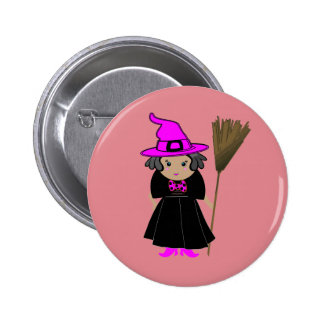 Good Witch Pin Button - Halloween Party Favors