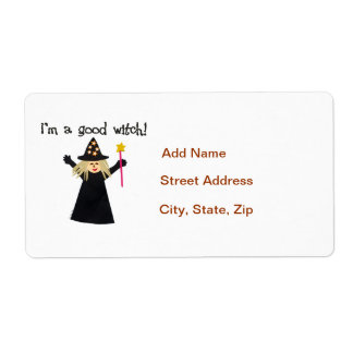 Good Witch Shipping Label