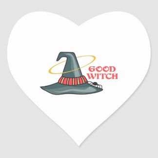 GOOD WITCH HEART STICKER