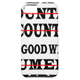 GOOD WITH NUMBERS iPhone SE/5/5s CASE