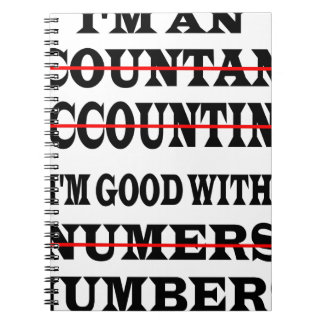 GOOD WITH NUMBERS NOTEBOOK