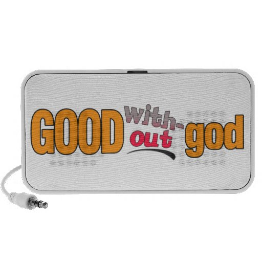 Good Without God Customizable Speakers