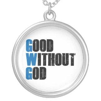 Good Without God Round Pendant Necklace