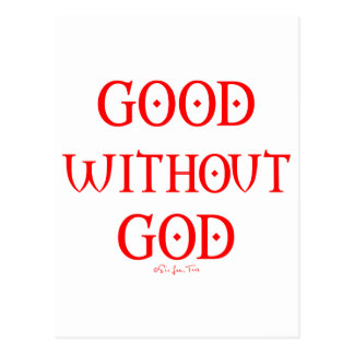 Good Without God Postcard
