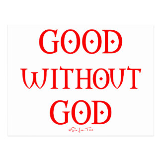 Good Without God Postcards