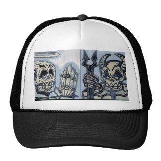 good zombie vs evil zombie Hat