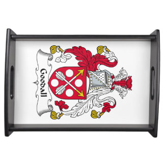 Goodall Family Crest Service Trays