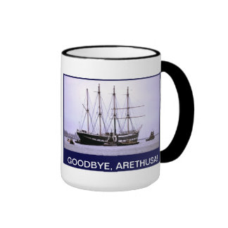 Goodbye Arethusa Ringer Mug