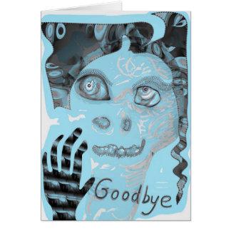 Goodbye card by Anjo Lafin
