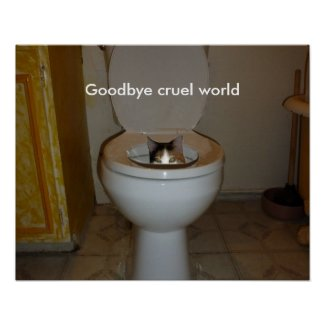 Goodbye Cruel World Poster