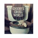 """&quot;Goodbye Cruel World&quot; Statuette<br><div class=""""desc"""">&quot;GOODBYE CRUEL WORLD&quot;</div>"""