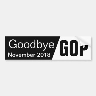 Goodbye GOP Bumper Sticker