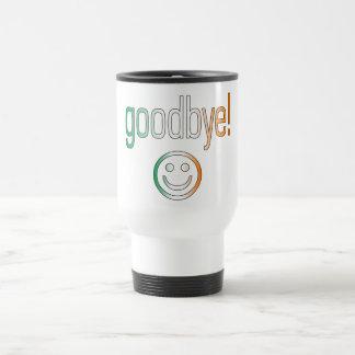 Goodbye! Ireland Flag Colors Travel Mug