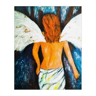 goodbye my love Angel Acrylic Print