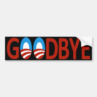 Goodbye Obama Bumper Sticker