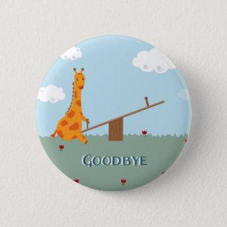 Goodbye Pinback Button