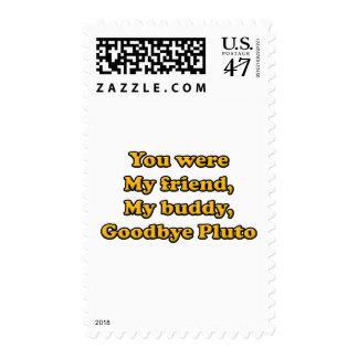 Goodbye Pluto Stamp